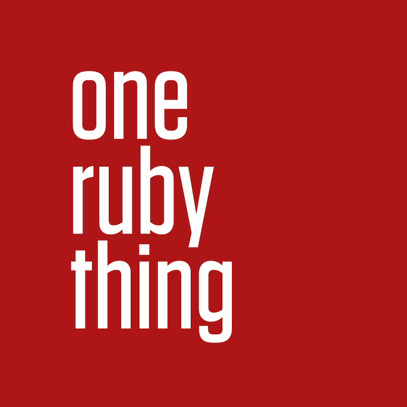 One Ruby Thing